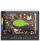 VacFun 3 Piezas HD Claro Protector de Pantalla para Marshall Electronics V-LCD101MD 10' Display Monitor, Screen Protector Sin Burbujas Película Protectora (Not Cristal Templado)