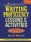 Ready-to-Use Writing Proficiency Lessons and Activities: 8th Grade Level
