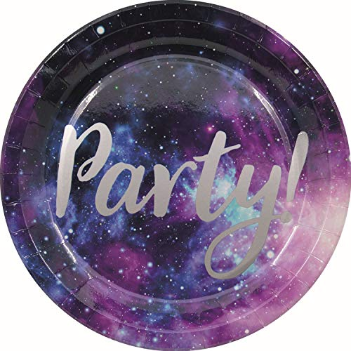 Galaxy Paper Plates 23cm 8Ct 96782
