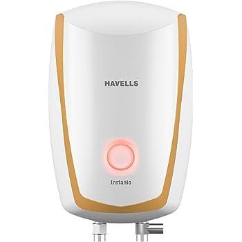 Havells Instanio 6-Litre Instant Geyser (White/Mustard)
