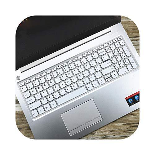 Funda protectora de silicona para teclado Lenovo IdeaPad 340C S540 15IWL S540-15IWL S 540 15 IWL-White
