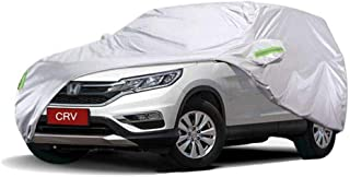 KTYXDE Car Car Cover Indoor and Outdoor Thick Oxford Cloth Anti-fouling Sun Protection Rain Warm Cover for CRV Off-Road Vehicle SUV Car Cover (Size : 2017)