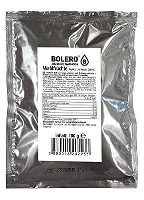 Bolero Drink - Waldfrüchte mit Stevia - 100g Beutel