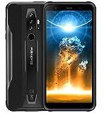 Blackview BV6300 Pro Telefono Rugged Android 10, 11,6 mm Corpo Sottile, Helio P70 6GB+128GB, Fotocamera HDR Quad 16 MP, Ricarica Wireless, IP68 Robusto Cellulare Rresistente, HD+ 5,7 '', NFC Nero