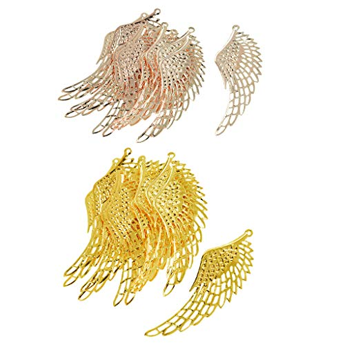 Generic 24x Schmuck Charm Anhänger DIY Vintage Alloy Findings Halskette Armband