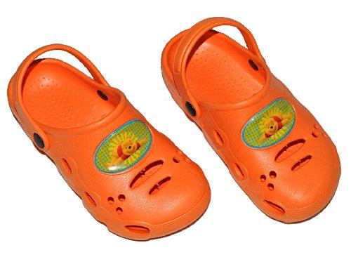 alles-meine.de GmbH Clogs Disney Winnie The Pooh - Größe 33 Schuhe Schuh Sandalen Badeschuhe Hausschuh Pantoffel Kinder