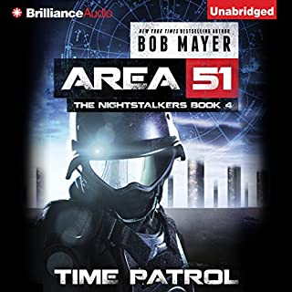 Time Patrol audiobook cover art