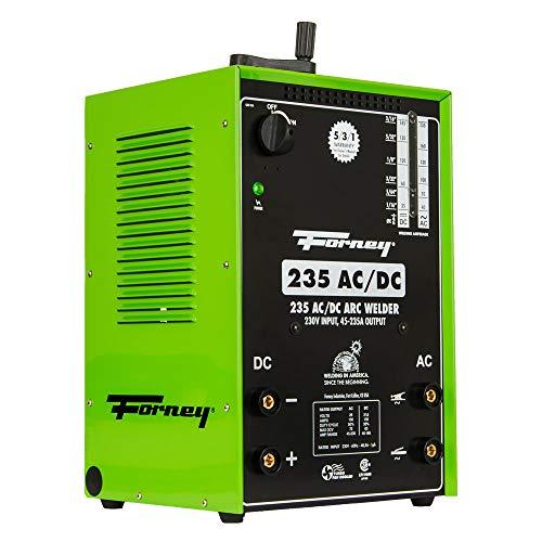 Forney 235 AC/DC Stick Welder, Arc Welder,230-Volt, 230/ 180 Amp , Green - 314