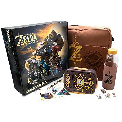 The Legend of Zelda: Breath of the Wild Sammelbox | inkl. 7 Exclusivartikel
