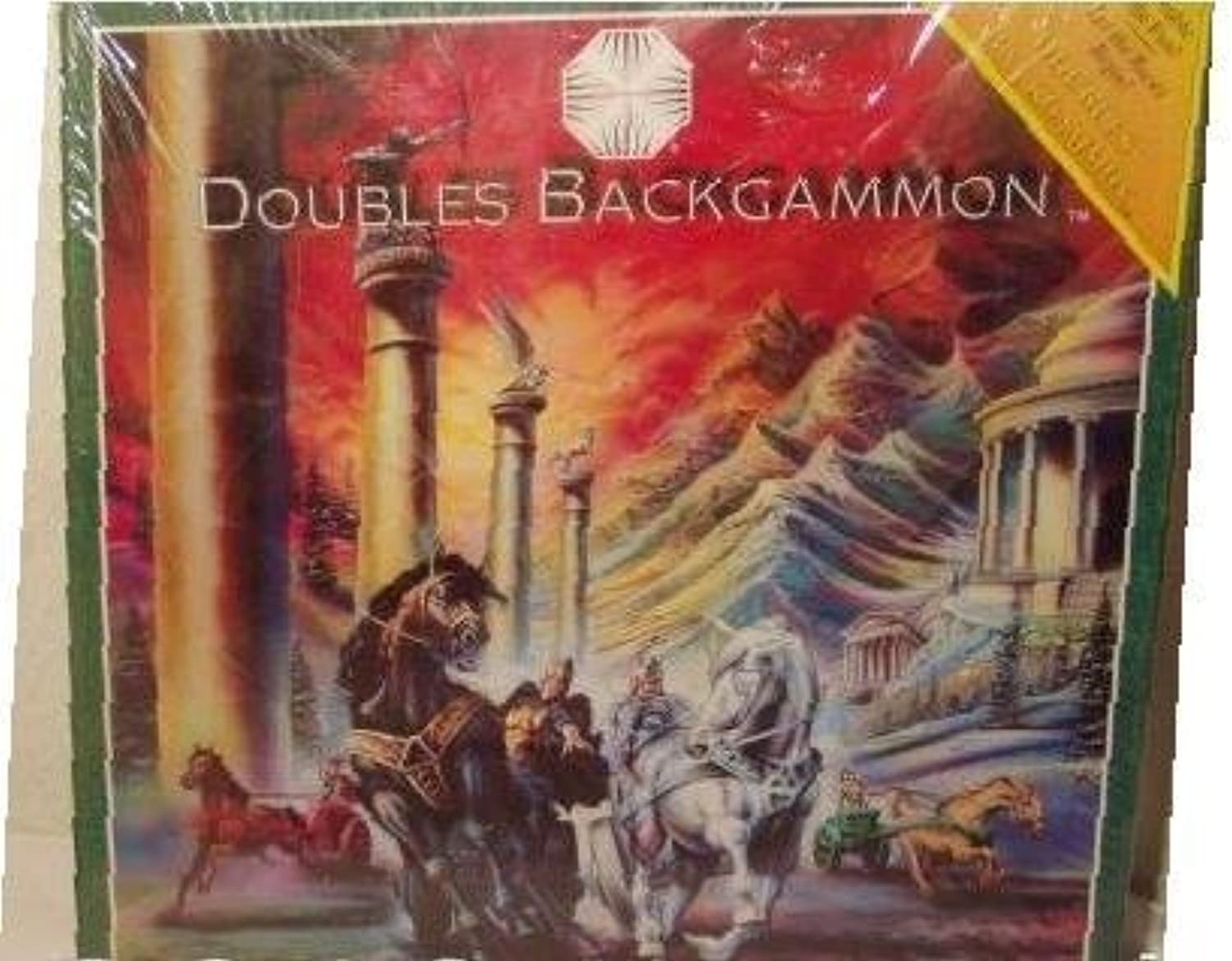 Doubles Backgammon, The Backgammon game for Partners by Amica International