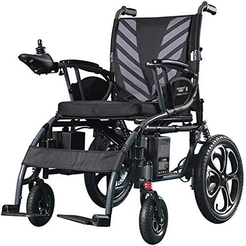 Ligera Silla De Ruedas Eléctrica Plegable con La Batería De 20ah Litio-Ion, Scooter Eléctrico Plegable Ultra Portátil Adecuado para Las Actividades Discapacitados Y Ancianos