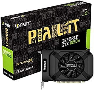 Palit GeForceGTX 1050 Ti StormX GeForce GTX 1050 Ti 4GB GDDR5 - Tarjeta gráfica (NVIDIA, GeForce GTX 1050 Ti, 4096 x 2160 Pixeles, 1290 MHz, 1392 MHz, 4 GB)