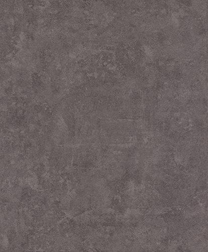rasch Tapete 467567 aus der Kollektion Vincenza – Vliestapete in Lila im Beton-Design – 10,05m x 53cm (L x B)