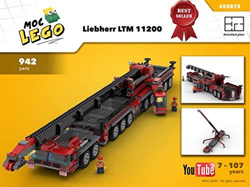 Liebherr Crane LTM 11200 (Instruction Only): MOC LEGO (English Edition)
