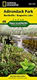 Northville, Raquette Lake: Adirondack Park (National Geographic Trails Illustrated Map, 744)