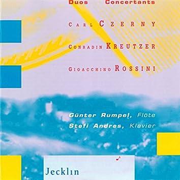 Gioachino Rossini, Carl Czerny, Gaetano Donizetti & Conradin Kreutzer: Duos Concertants