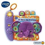VTech-El Libro de Trompa Cuento de Tela Interactivo para bebé con un Suave...