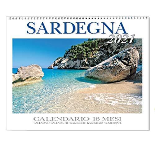 Calendario da muro Sardegna 2021 f.to 62 x 39,4 cm