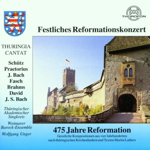 Thüringischer Akademischer Singkreis, Weimarer Barockensemble & Wolfgang Unger