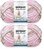Bernat Baby Blanket Big Ball Yarn (2-Pack) Little Roses 161104-4418