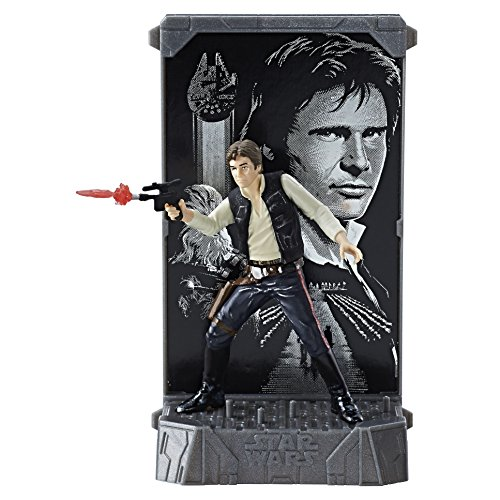 Star Wars Black Series Titanium 40th Anniversary Han Solo Action Figure
