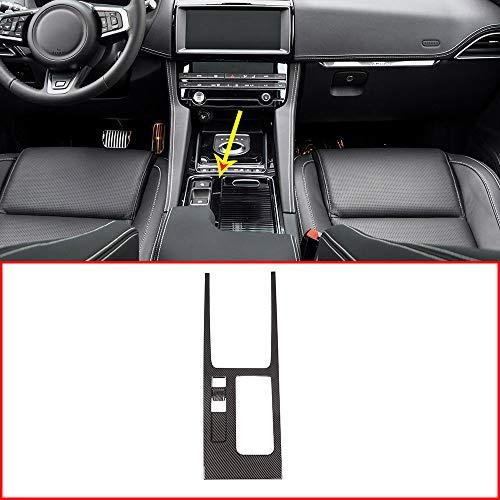 Panneau de maintien en fibre de carbone ABS pour console centrale Jag F-PACE XEL XFL avec conduite à gauche
