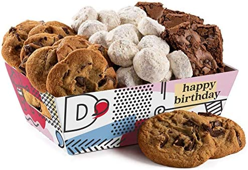 Davids Cookies Crates Birthday Brownies Cookies Crate product image