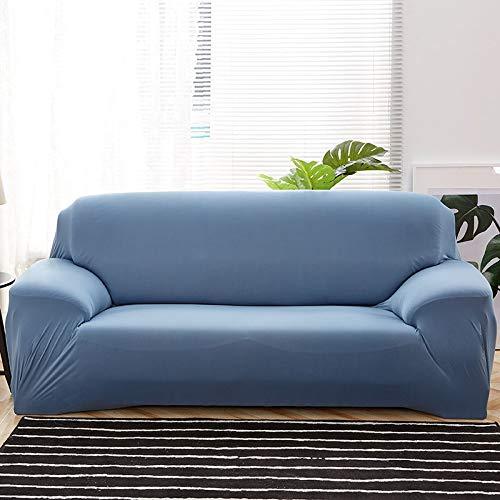WXQY Fundas elásticas elásticas Antideslizantes Funda de sofá para Mascotas Funda de sofá Esquina en Forma de L Funda de sofá Antideslizante A24 4 plazas