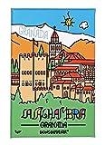 DONSOUVENIR MAGNETICO Granada. Modelo: LA Alhambra. IMAN