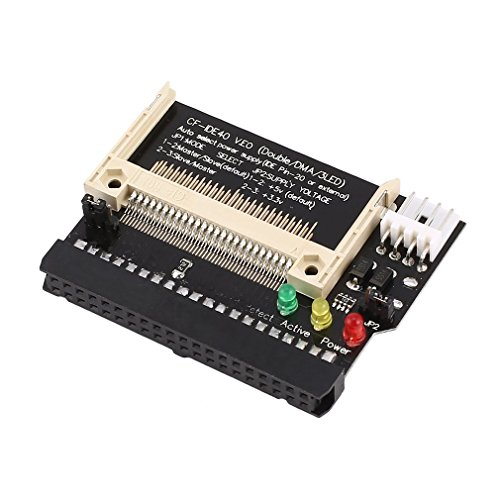 Compact Flash CF To 3.5 Hembra 40 Pin IDE Adaptador de Arranque...