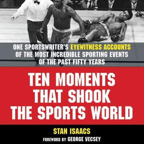 Ten Moments That Shook the Sports World audiobook cover art