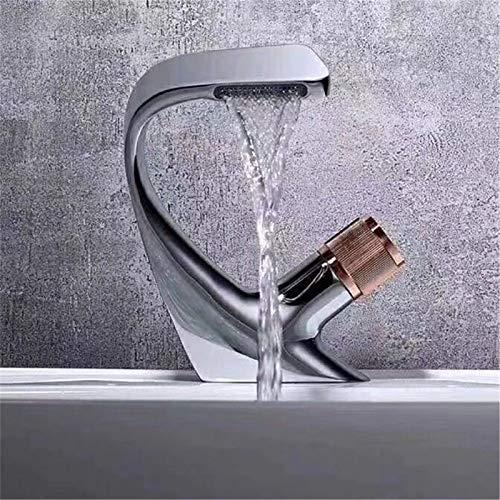 Grifo Grifo Negro Baño de baño Faucets Hot Frier Water Mixer Crane Deck Mounted (Color : 1AA803063 4)