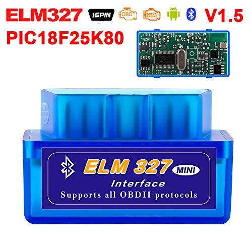 Buy Discount Car Code Reader Scan Tools Elm327 OBDII OBD2 Car Diagnostic Bluetooth Scanner Automotiv...