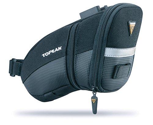 TOPEAK Aero Wedge Quick Clip Bolsa de Silla (Medio) Ciclismo Panniers Racks Bolsas