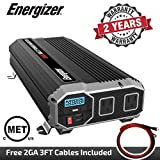 Photo #5: Energizer Heavy Duty 2000 Watts Power Inverter for Truck Use with Two 2.4amp USB Ports