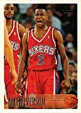 1996-97 Topps Basketball #171 Allen Iverson Rookie Card. rookie card picture