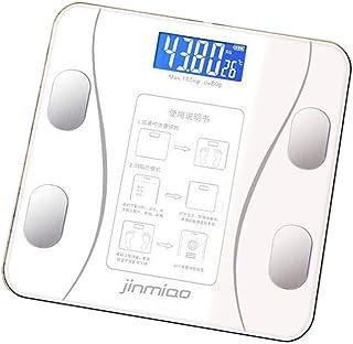 perfk Báscula De Grasa Corporal Báscula De Peso Inteligente Fácil De Leer Para Adultos Regalos Para Personas Gordas - Bateria cargada