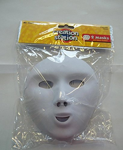 Creation Station Twee maskers, Full Face