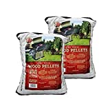Z GRILLS 100% All-Natural Hardwood Pellets - 2 Pack- Grill, Smoke, Bake, Roast, Braise, and BBQ (20 lb. Bag) - Made in USA