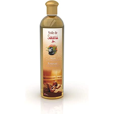 Camylle - Voile de Sauna Orient - Fragrances à base d'Huiles Essentielles 100% Pures et Naturelles pour Sauna - Positivant aux arômes chauds et boisés - 500ml