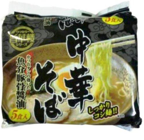 山本製粉 旨華楼 中華そば 魚介豚骨醤油 袋88g×5