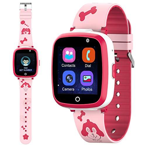 ETPARK Relojes para Niños, Reloj Inteligente Niño Admite Llamada Telefónica SOS Reproducir MP3 Juego Cámara Smartwatch para Niños para 3-12 años