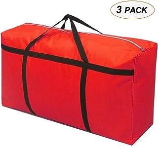 Sacs pour vêtements Ensemble 3 pièces en tissu Oxford rembourré Sac de rangement lavable sac de rangement à double tête et...