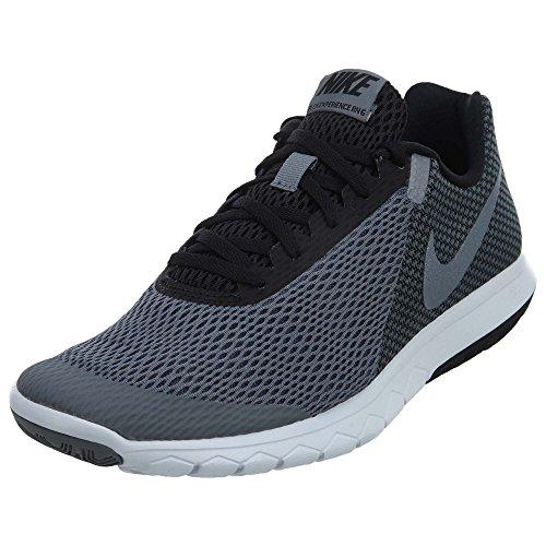 Nike Mens Flex Experience RN 6 Running Shoe (Cool Grey Mtlc Grey Wht Blk, 9.5 M US)