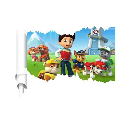 Paw Patrol team Wall sticker by Perfect Charms