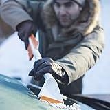 Fiskars Auto-Eiskratzer und Schneebürste, Auseinandernehmbar, Kunststoff/Silikon, Weiß/Orange, SnowXpert, 1019352 - 5