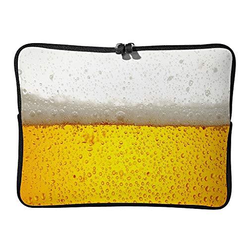 Bolsas para portátil con cerveza helada regular, impermeables, para viajes, etc., blanco (Blanco) - BTJC88-DNB-8