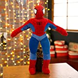 Ebony Cartoon Anime Doll Spider Man Peluche Grande Poupée Ragdoll Cadeau 90 cm Paiement de la Station