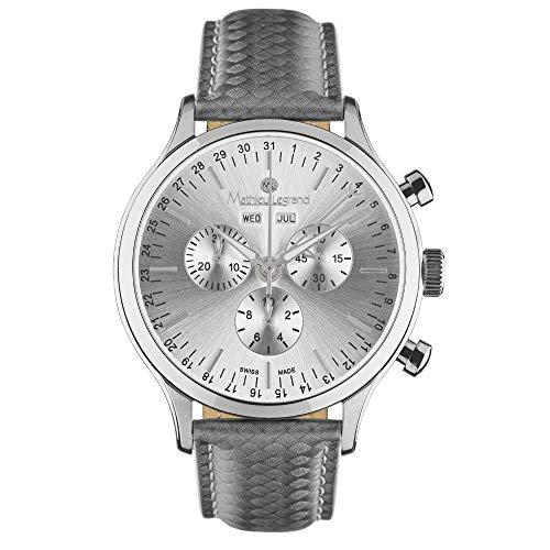 MLG-1008J Mathieu Legrand Tournante Stahl Silber