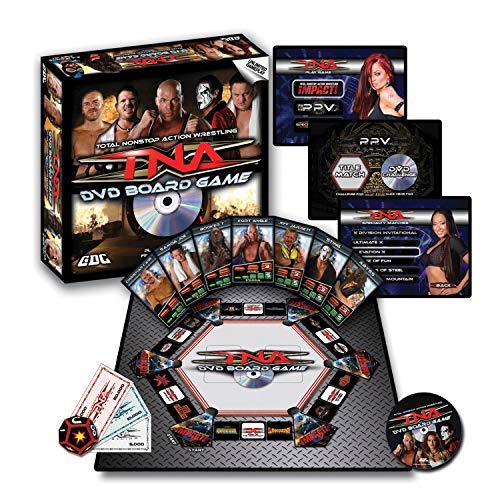 TNA Wrestling DVD Board Game